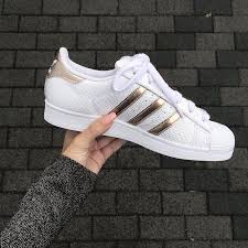 adidas superstar damen weiß rose gold