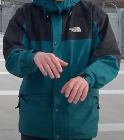Wo kann ich diese The North Face Jacke finden?