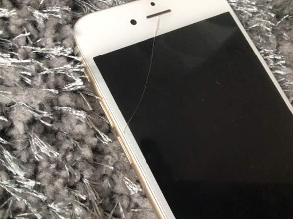 Wo kann ich ein iPhone mit Sprung verkaufen?