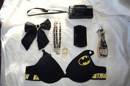 Batman BH - (Mädchen, BH, Unterwäsche)