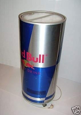 - (Kühlschrank, Red Bull)
