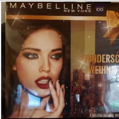 Mabelline Adventskalender 2015 - (Beauty, Adventskalender)