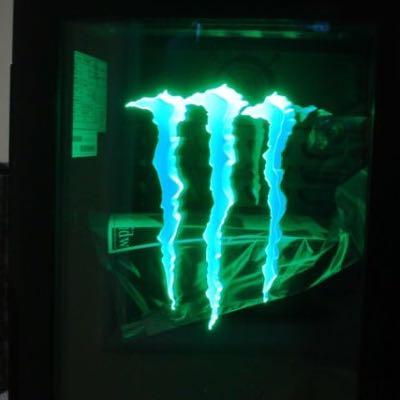Wo kann ich mir eine mini bar von Monster Energy kaufen? (Mini-bar)