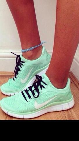 Nike Free 5.0 Mint Damen
