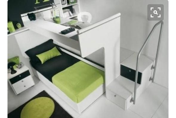 Wo kann ich so ein Bett mit Schreibtisch herbekommen? (woher)