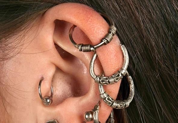 ringe - (Piercing, Ohr, Schmuck)