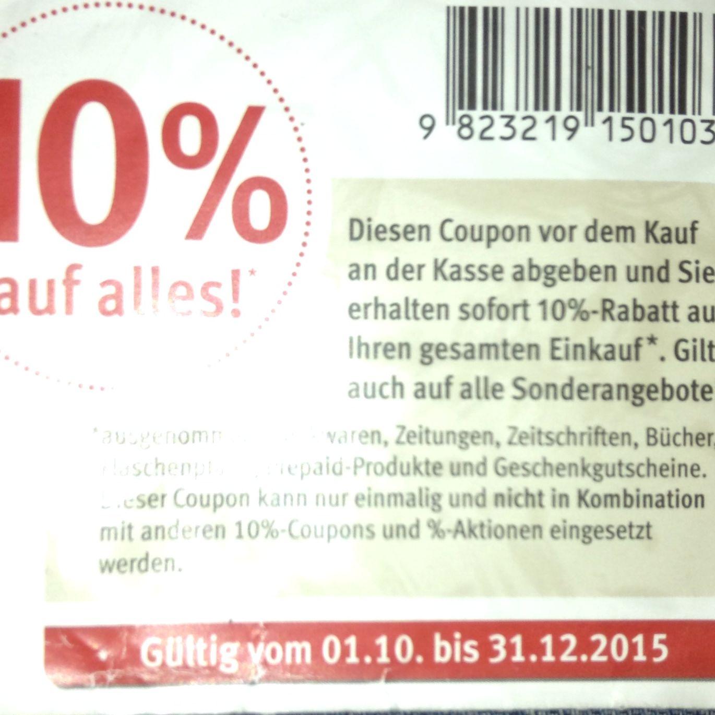 gutschein coupon