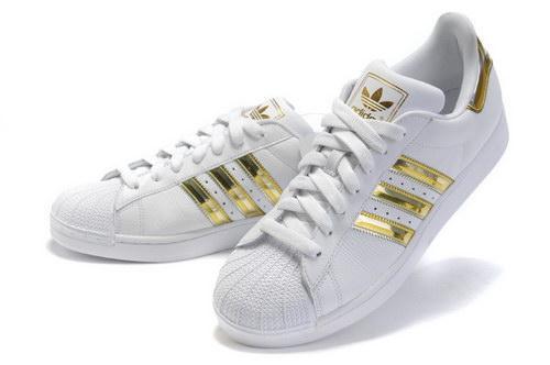 Adidas Weiß Gold Schuhe
