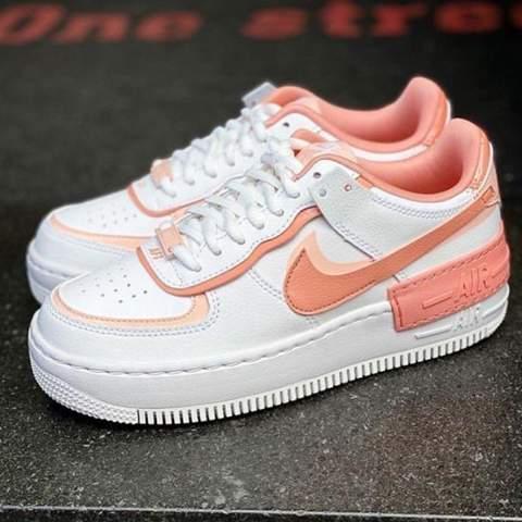 Wo kann man Air Force 1 shadow coral pink kaufen?