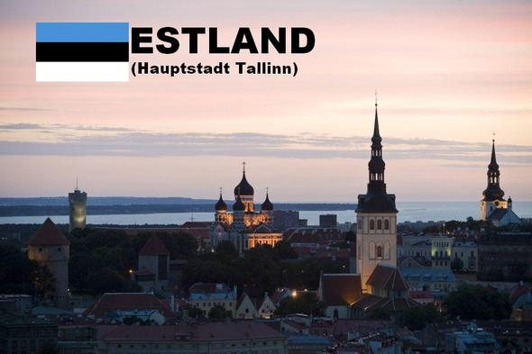 Estnische Hauptstadt 'Tallinn' - (Leben, finnland, estland)