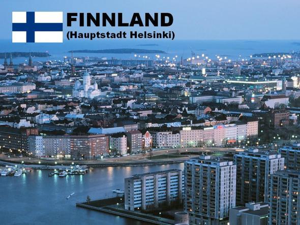 Finnische Hauptstadt 'Helsinki (oder Helsingfors)' - (Leben, finnland, estland)