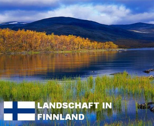 Finnische Landschaft - (Leben, finnland, estland)