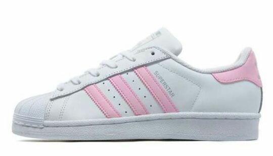 adidas superstars rosa streifen
