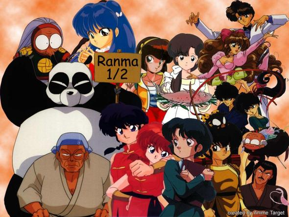 Ranma 1/2 - (deutsch, Anime, Serie)