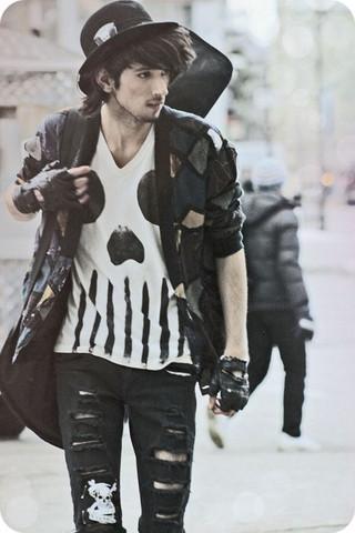 Outfit - (Klamotten, black)