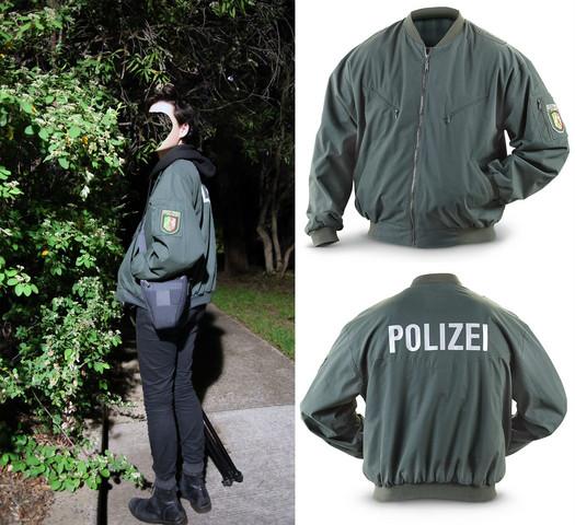 Wo kann man diese Jacke kaufen (polizei)?