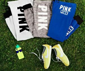 """Wo kann man diese Jogginghosen von der Marke """"Pink"""" kaufen?"""