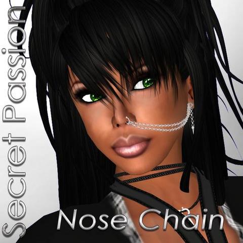 nose chain, nasenkette - (Piercing, Ohr, Nase)