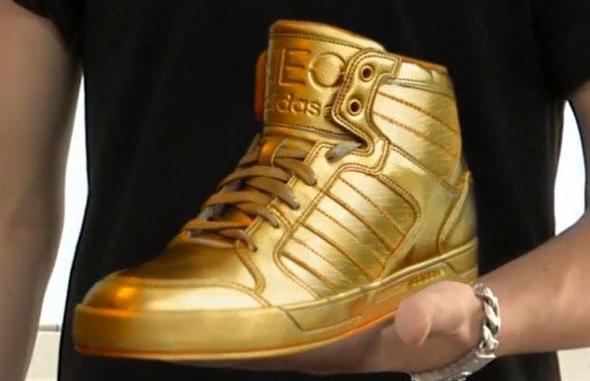 Schuhe Justin Bieber Neo Gold Adidas Sneakerfactory rxdeQoWCB