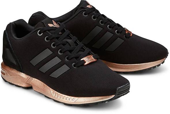 adidas schuhe zx flux schwarz