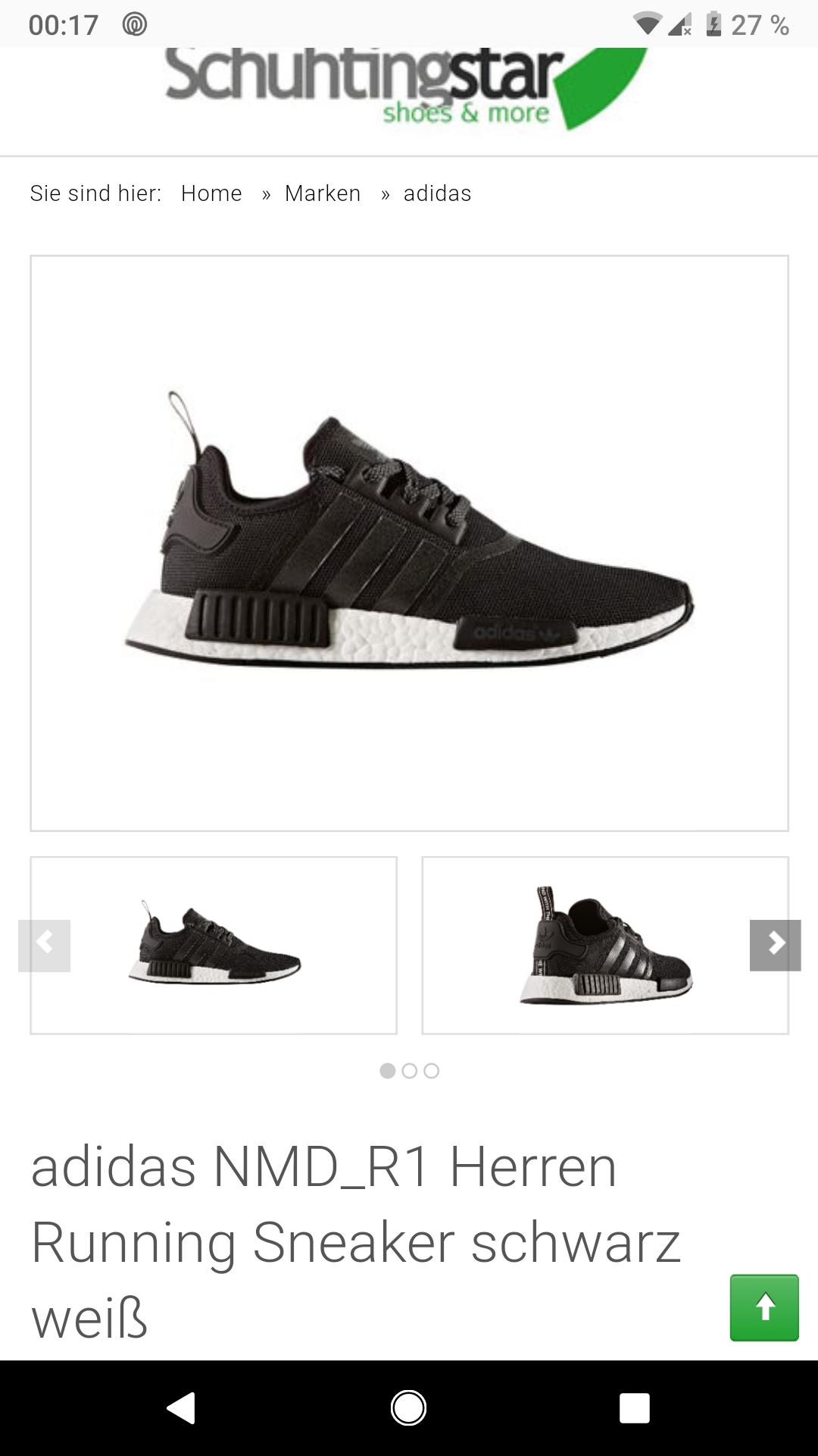 Aktivität adidas Originals Mens NMD_R1 PK Running Shoe