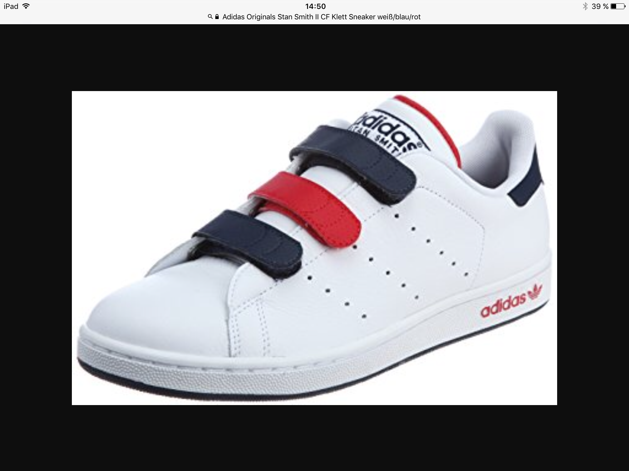 große Auswahl adidas Stan Smith CF Schuhe Weiß Winrot