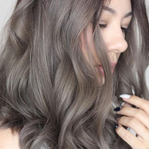 Aschbraun - (Haarfarbe, färben, braun)