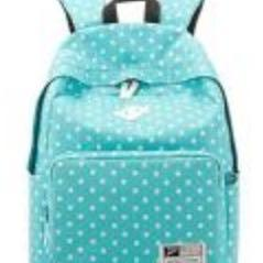 Diesen Rucksack - (Punkte, blau, Rucksack)