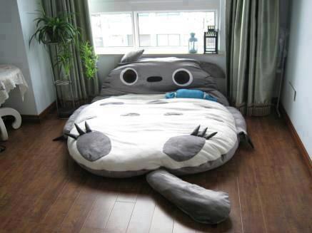 Mein Nachbar Totoro - (Anime, Bett, Totoro)
