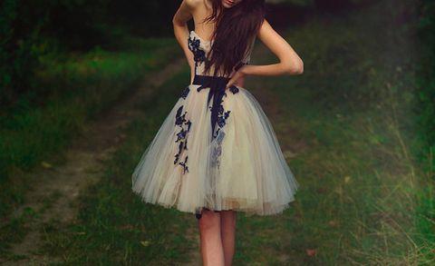 Kleid schick weib