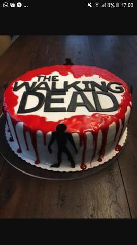 Wo Kann Man Eine Walking Dead Torte Einstockig Bestellen Oder
