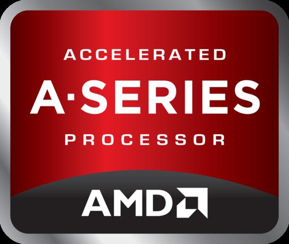 A Series Logo - (Prozessor, APU, AMD A10)