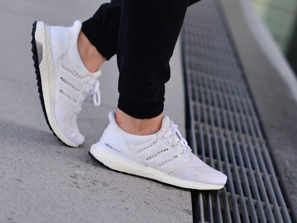 Adidas Ultra Boost in triple white aus dem key city pack! - (adidas, Ultra Boost)