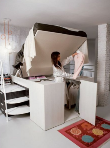 Bett Im Schrank
