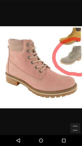 Die grauen dort sind es - (kaufen, Schuhe, Schnürsenkel)