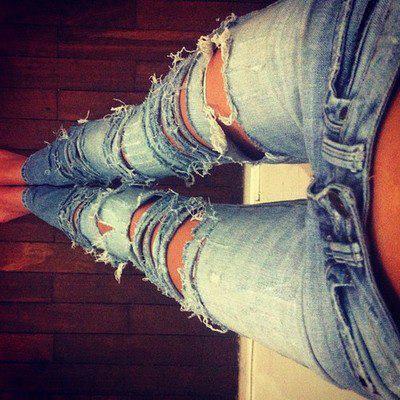 Zerrissene jeans damen kaufen