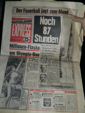16. u  17. Juli 1968 - (Geschichte, Kunst, Zeitung)