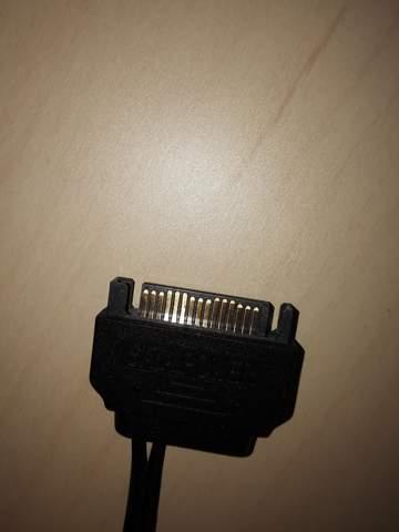 Wo kommt das Sata Power Kabel hin?