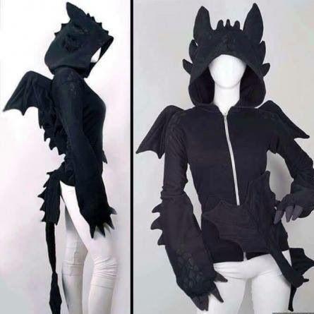 Schwarz mit zacken  - (Kleidung, Jacke, schwarz)