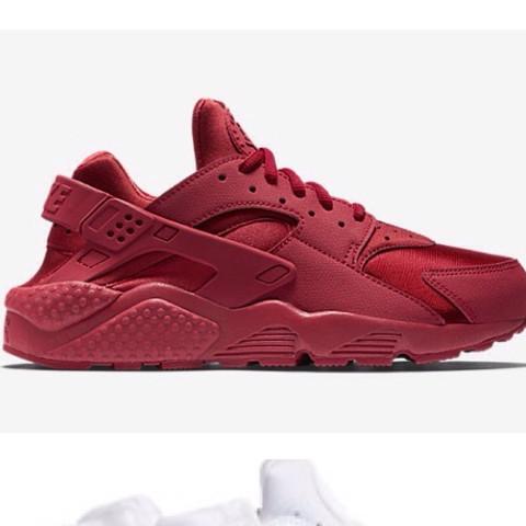 Nike Huarache in rot  - (Nike, rot, Huarache)
