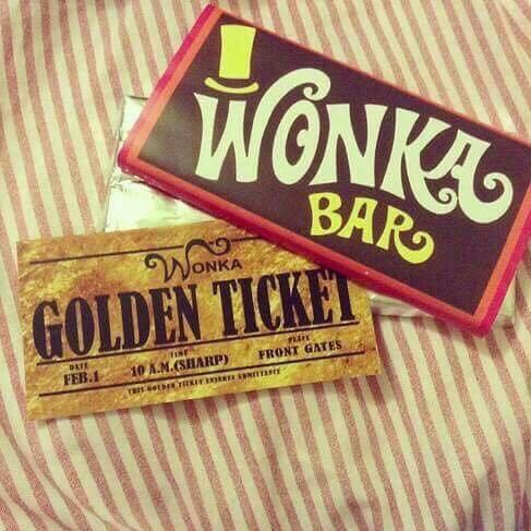 Willy Wonka Schokolade