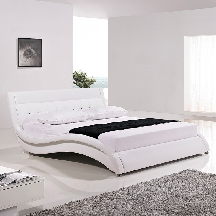 kunstleder bett wei 140x200 fabulous boxspring bett weiss x with kunstleder bett wei 140x200. Black Bedroom Furniture Sets. Home Design Ideas