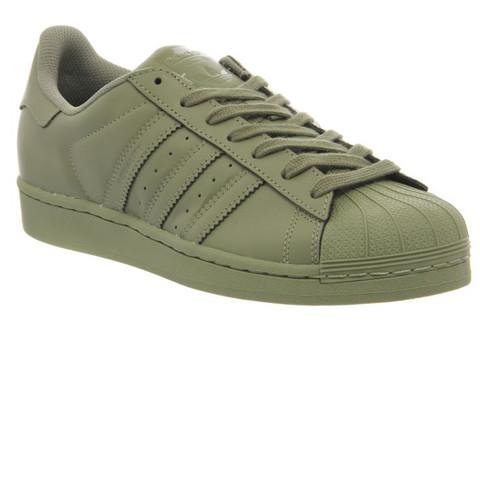 Wo kriegt man die Schuhe her adidas superstar khaki (online