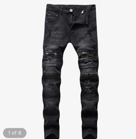 wo kriegt man gute Herren ripped mid rise jeans her?