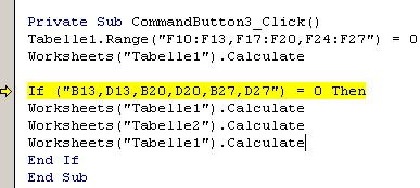 Der Fehler - (programmieren, Microsoft, Excel)