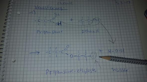 Propansäure-ethylester - (Chemie, Alkohol)