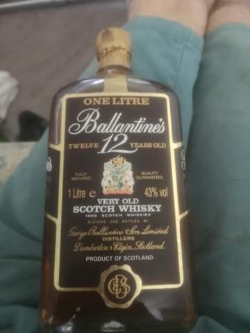 Wo sehe ich das Abfülldatum bei den 12 years ballantines skotch Whisky?
