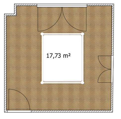 Wo soll das Bett hin (Bild)?