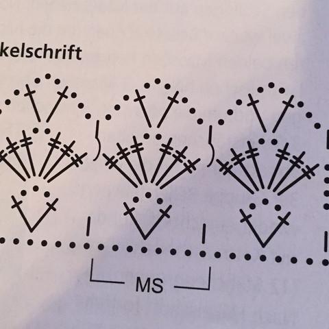 Häkelschrift  - (Anleitung, Handarbeit, haekeln)