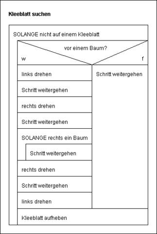 Struktogramm  - (Informatik, struktogramme)